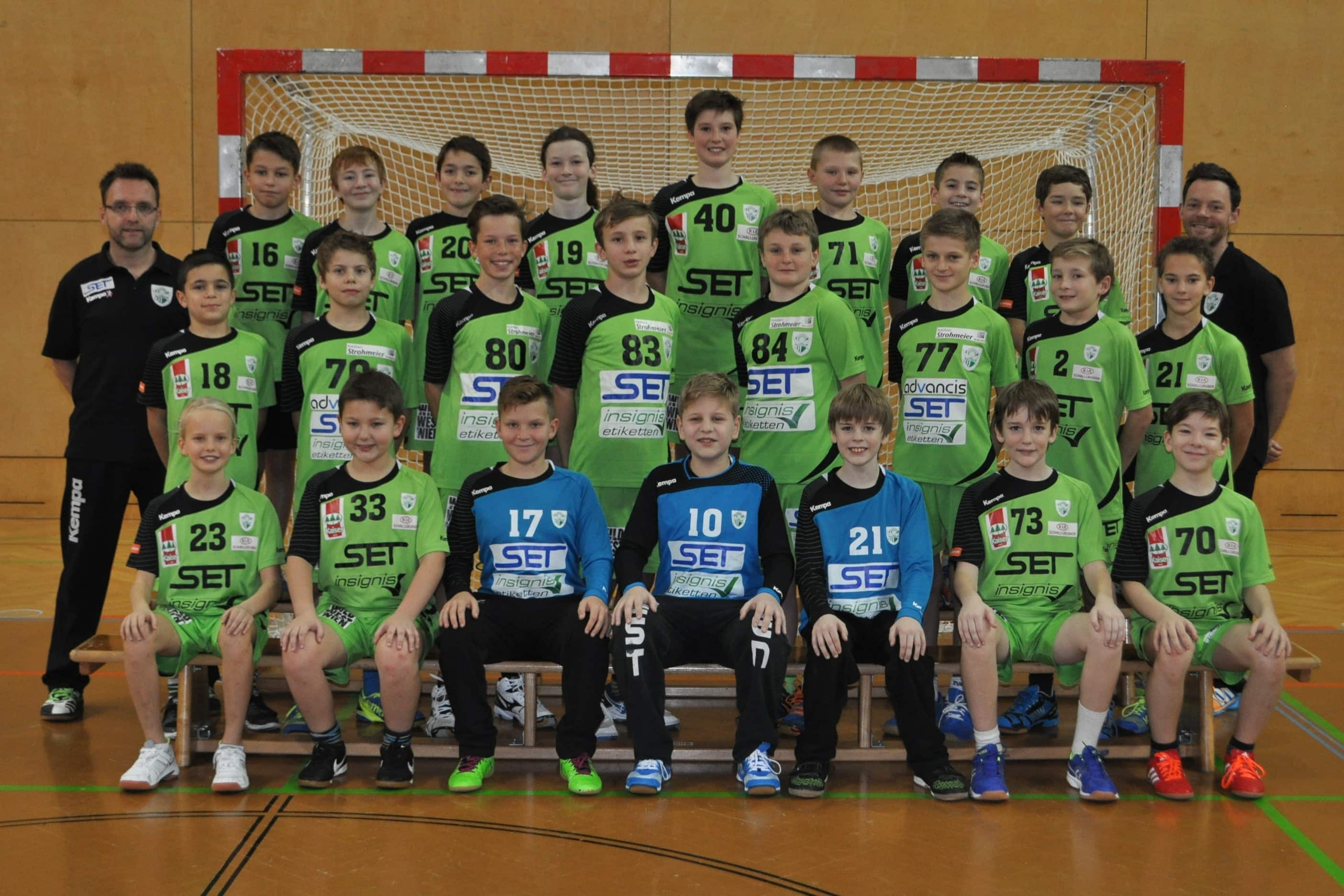 Union West-Wien Handball U11 2016-17